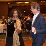 Honoree Carmen J. Smith dance with me