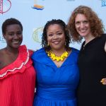 Honoree Francesca Harewood (Center)