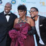 Honoree Anna Maria Horsford with friends