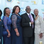 Honoree Hon Roland Yorke, Consul General of Belize to Los Angeles with Family and Friends
